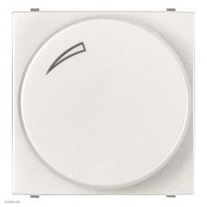 Cветорегулятор поворотно-нажимной для регулируемых LED ламп, 2-100 Вт, ABB Zenit, белый N2260.3 BL