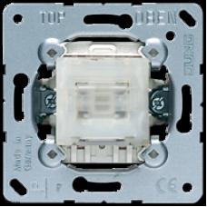 502 TU Самовозвратный выключатель двухполюсный 10 A / 250 В