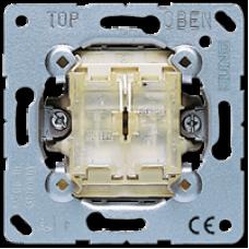 509 TU Самовозвратный выключатель сдвоенный проходной 10 A / 250 В
