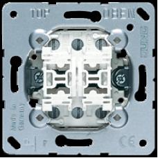 539 U Двухклавишный механизм кнопок без фиксации 10 A / 250 В